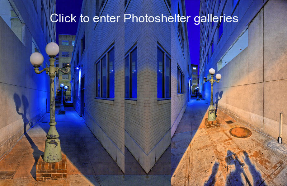 Photoshelter entrance